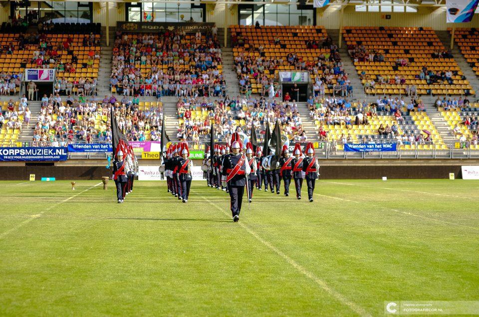 Opmars Muziekkorps stadion Roda JC