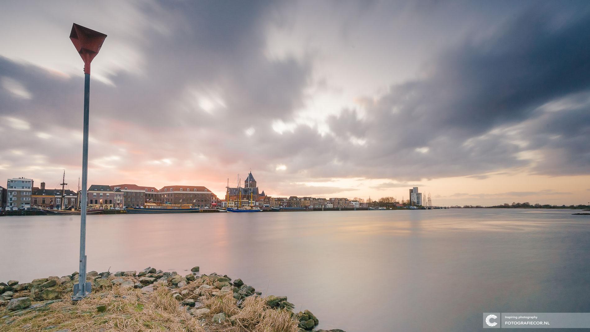 Avondfotografie stadsfront | landschapsfotograaf