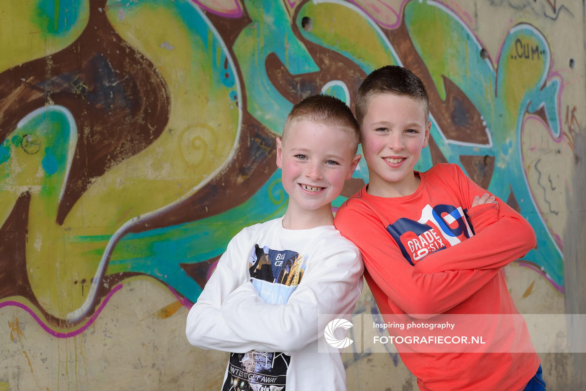 Portretfotografie buiten | Leuke fotoshoot kinderen