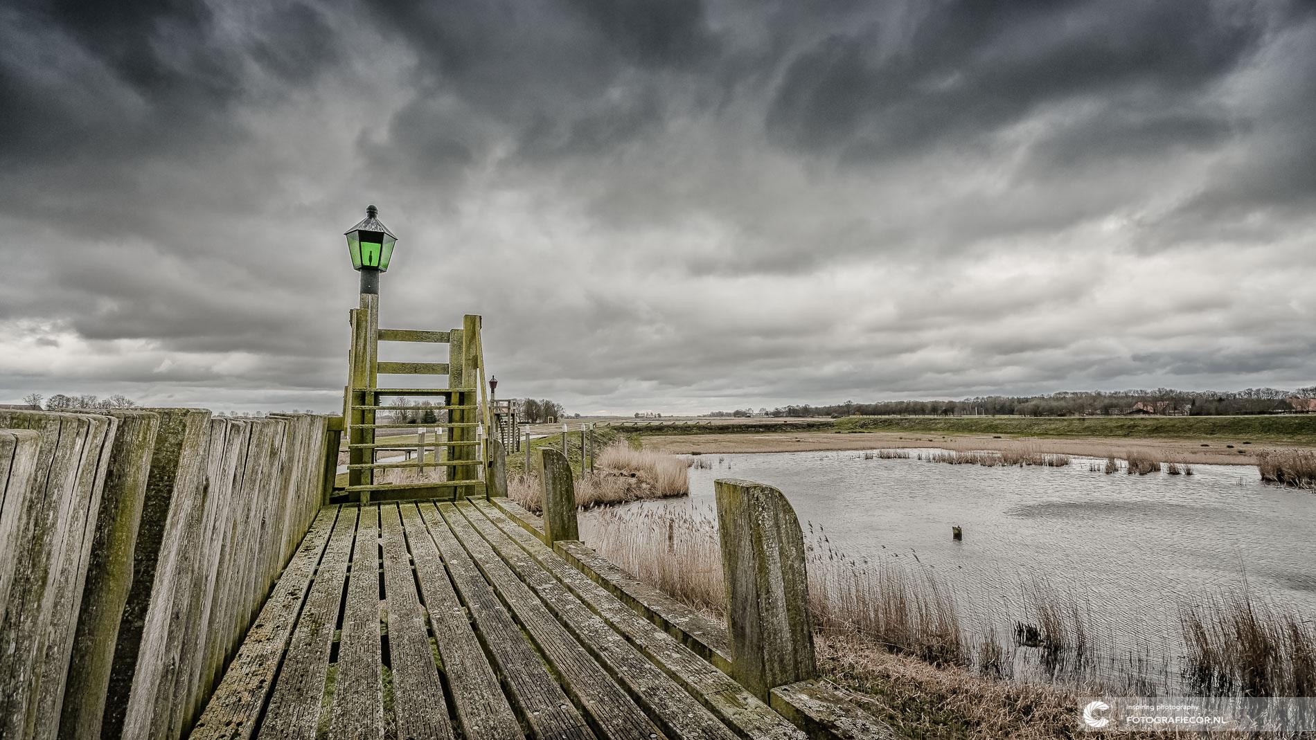 oude haven unesco erfgoed schokland | Landschapsfotograaf