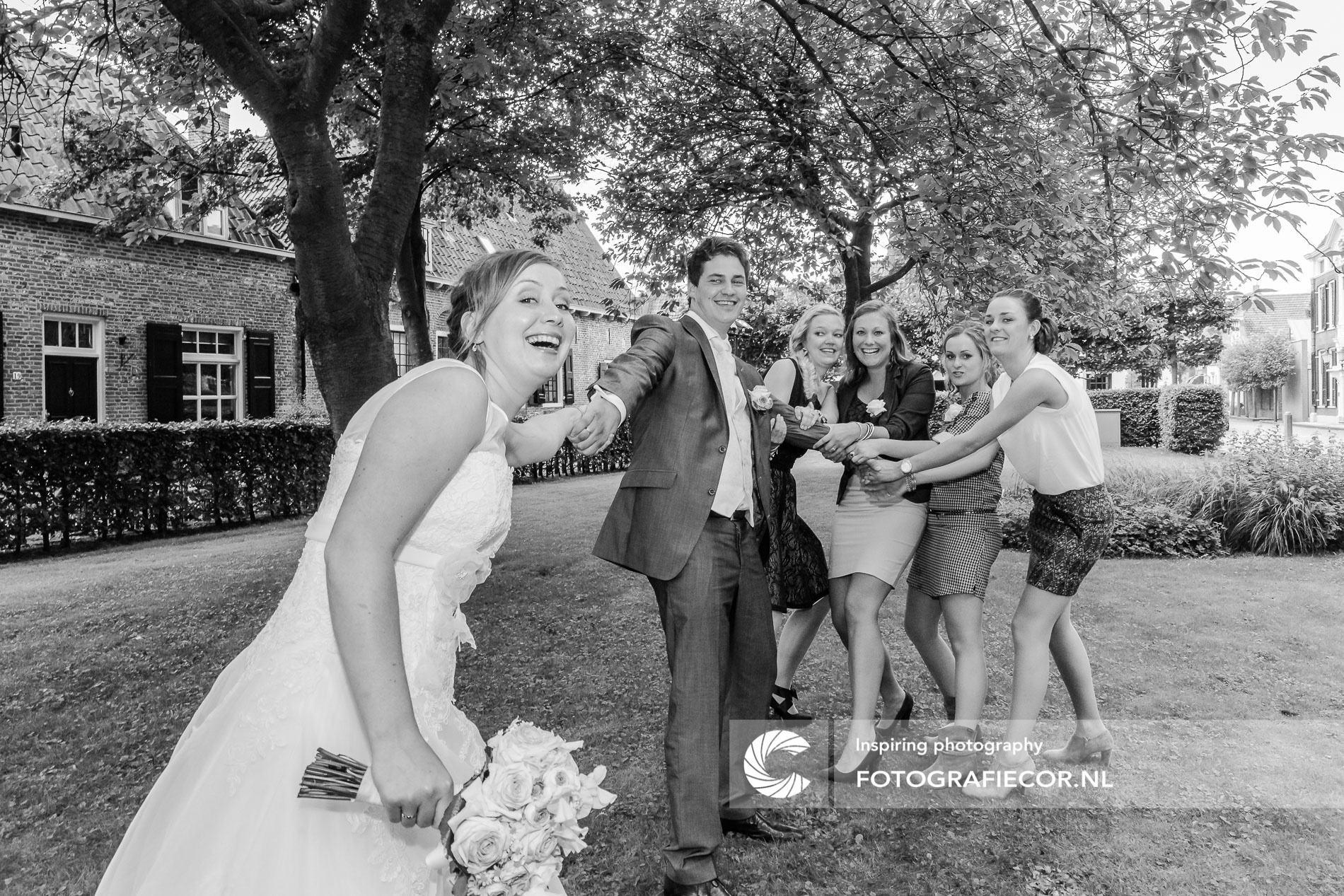 Bruidsfotografie | Portret | trouwfotograaf | bruidspaar | bruidsreportage | weddingshoot