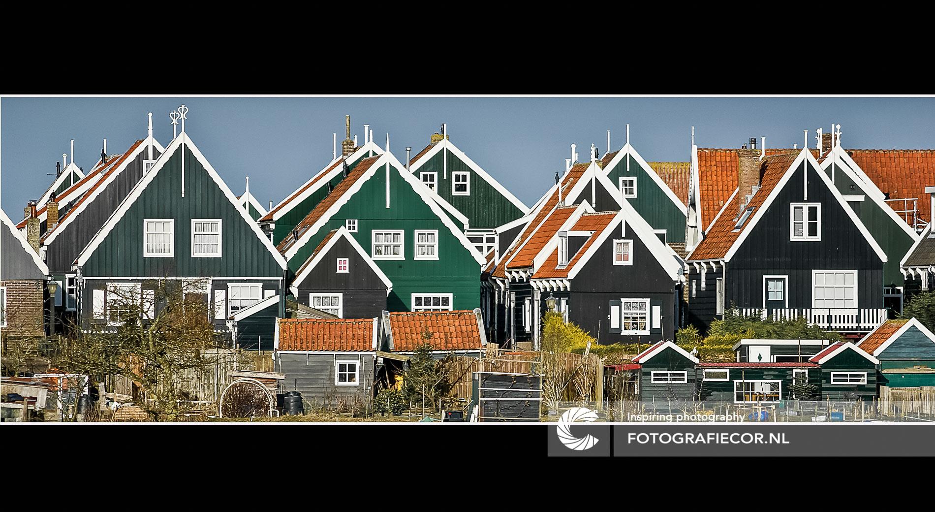 Traditionele bouwstijl eiland ,Marken | architectuurfotograaf