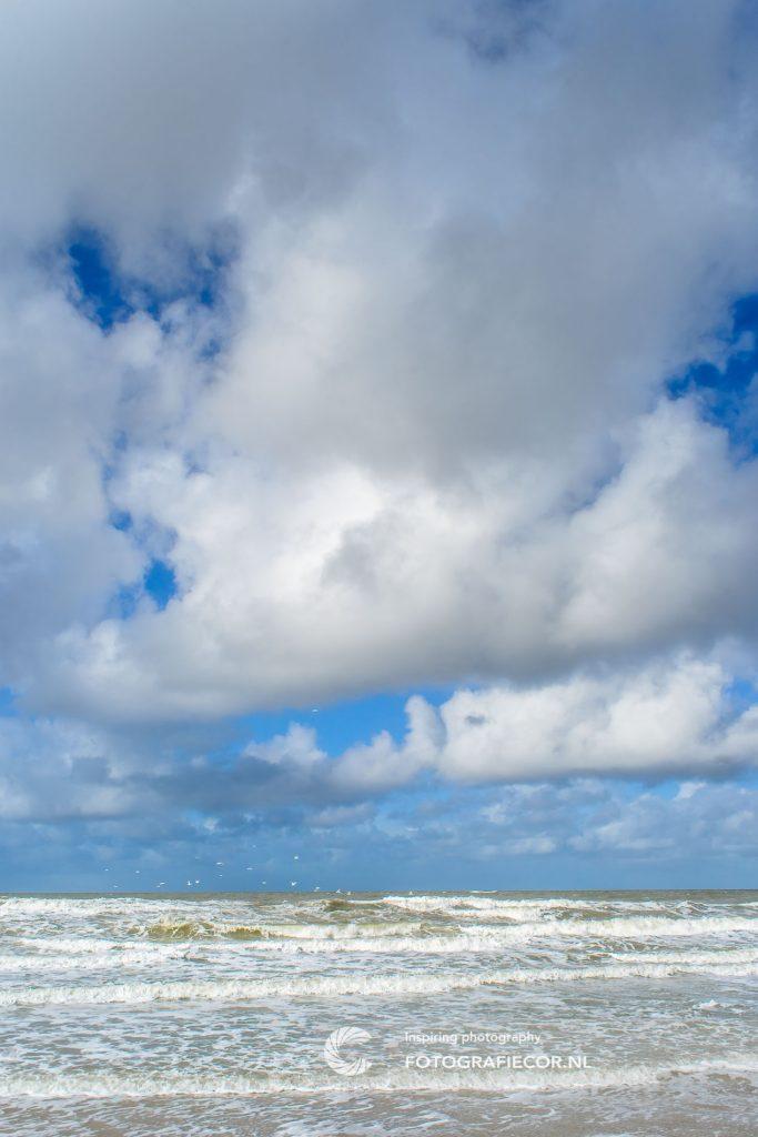 Texel | weer | Noordzee| strand | wolken | zeelucht | landschapsfotograaf