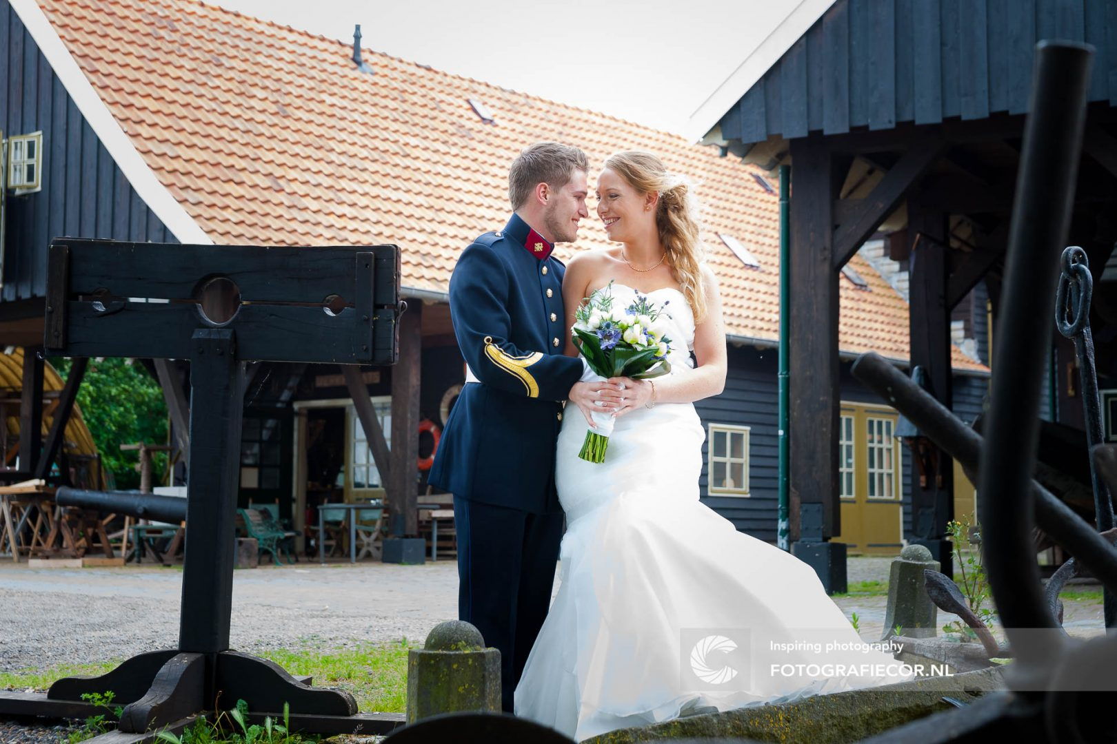 trouwfoto | Koggewerf | trouwreportage | huwelijk | fotograaf | foto | locatie | Trouwen