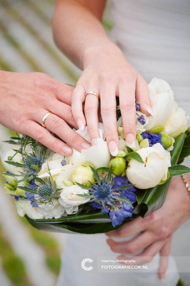 trouwboeket | trouwreportage | huwelijk | fotograaf | foto | locatie | Trouwen