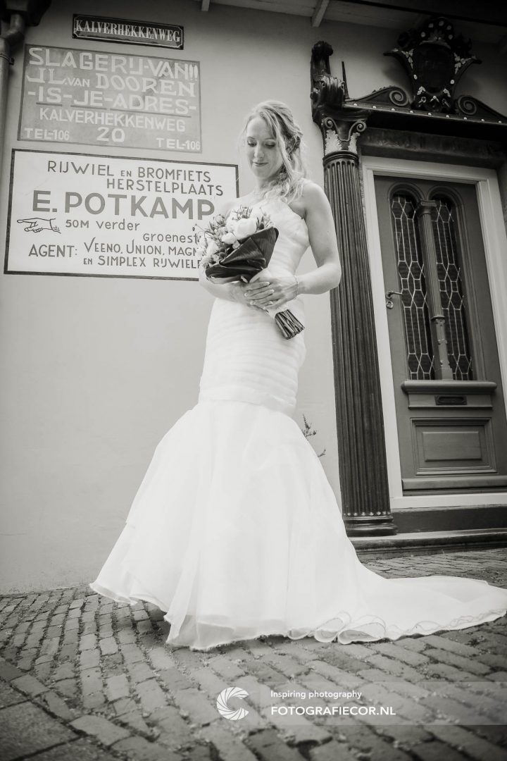 zwart wit | trouwreportage | huwelijk | fotograaf | foto | locatie | Trouwen