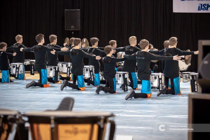 Indoor percussion Jong KTK in actie tijdens WGI in Almere & Eindhoven | Event fotograaf Kampen - Nederland