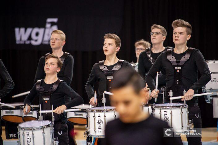 Indoor percussion Jong KTK in actie tijdens CGN in Almere & Eindhoven | Eventfotografie Kampen - Nederland