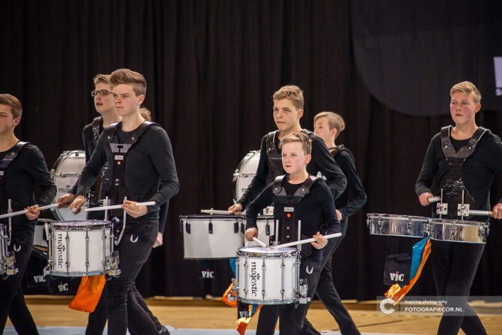 Indoor percussion concentratie slagwerkgroep Jong KTK | Event Almere