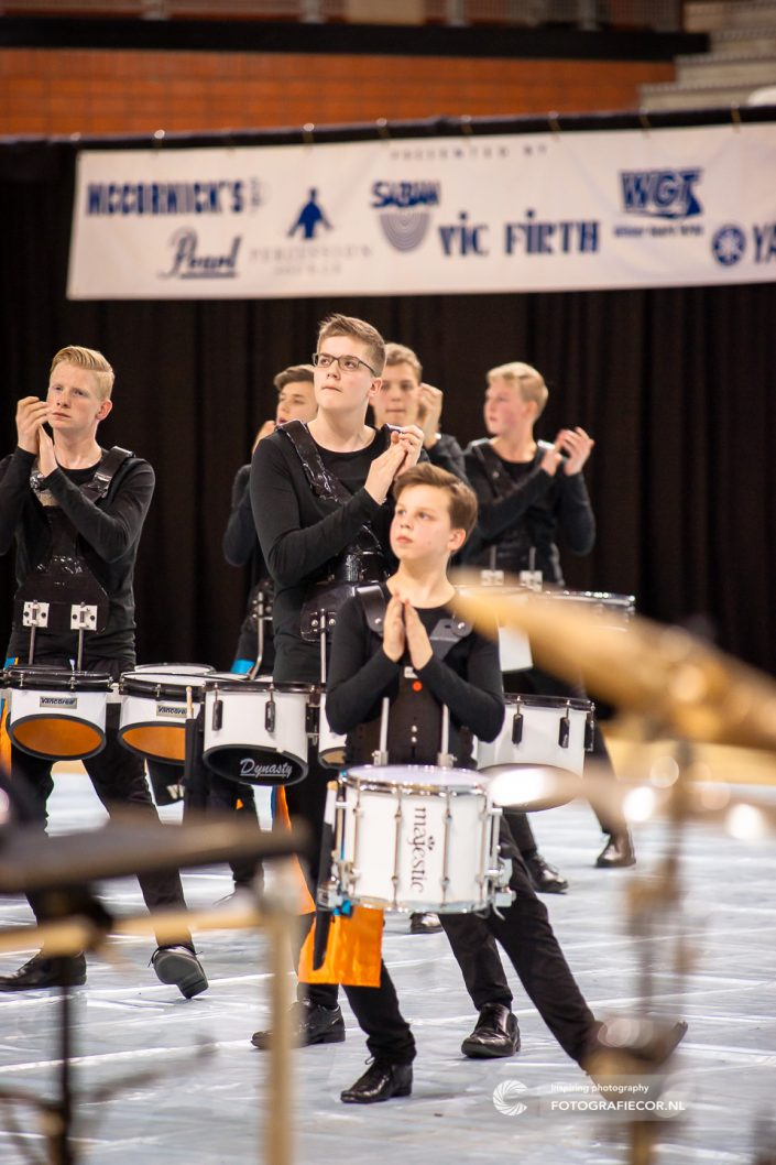 Indoor percussion | evenement Color Guard Nederland Almere