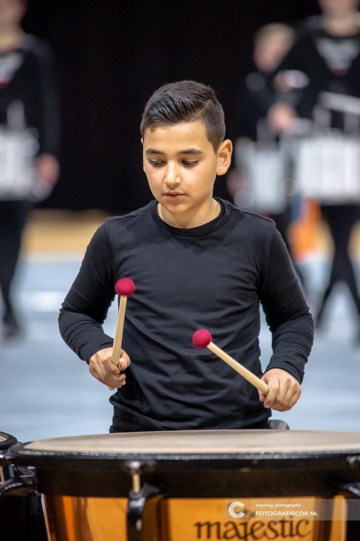 Indoor percussion slagwerk Jeugd| Event fotograaf Kampen - Almere