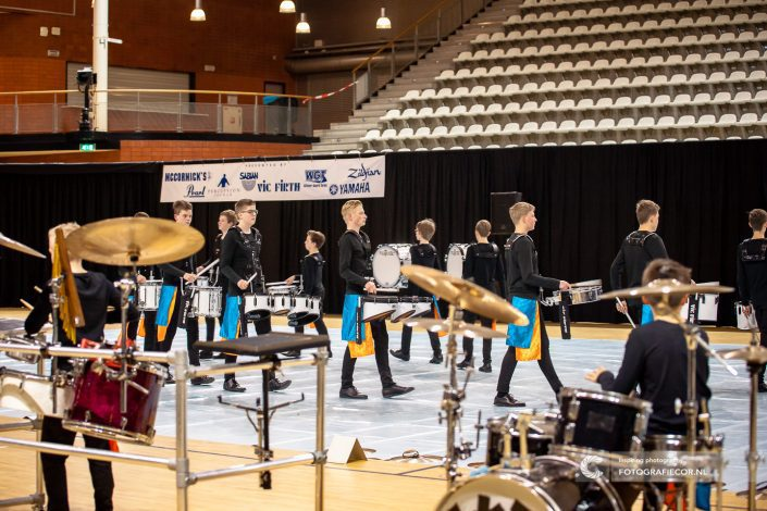 Indoor percussion Slagwerkgroep Jong KTK | evenement Almere