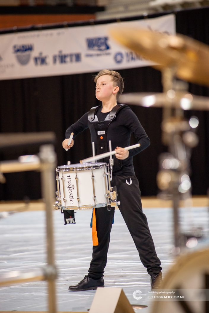 Indoor percussion Color Guard Nederland | Eventfotografie topsportcentrum Almere - Nederland