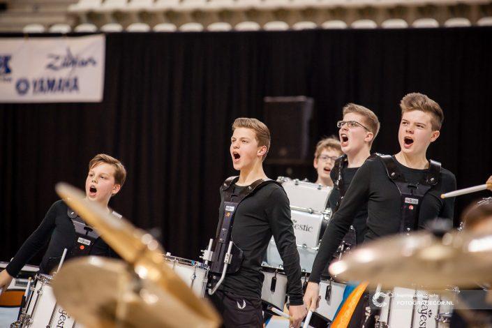 Indoor percussion WGI topsportcentrum Almere Jong KTK Kampen | Eventfotografie - Nederland