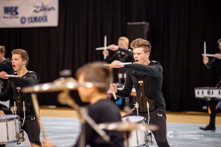 Passie en overtuiging bij Indoor percussion Jong KTK | Eventfotografie Kampen - Nederland