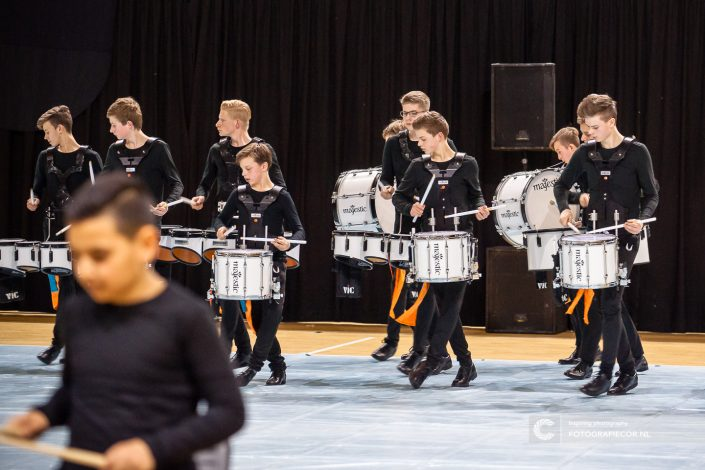 Indoor percussion Jong KTK in actie | Event fotograaf Kampen - Nederland