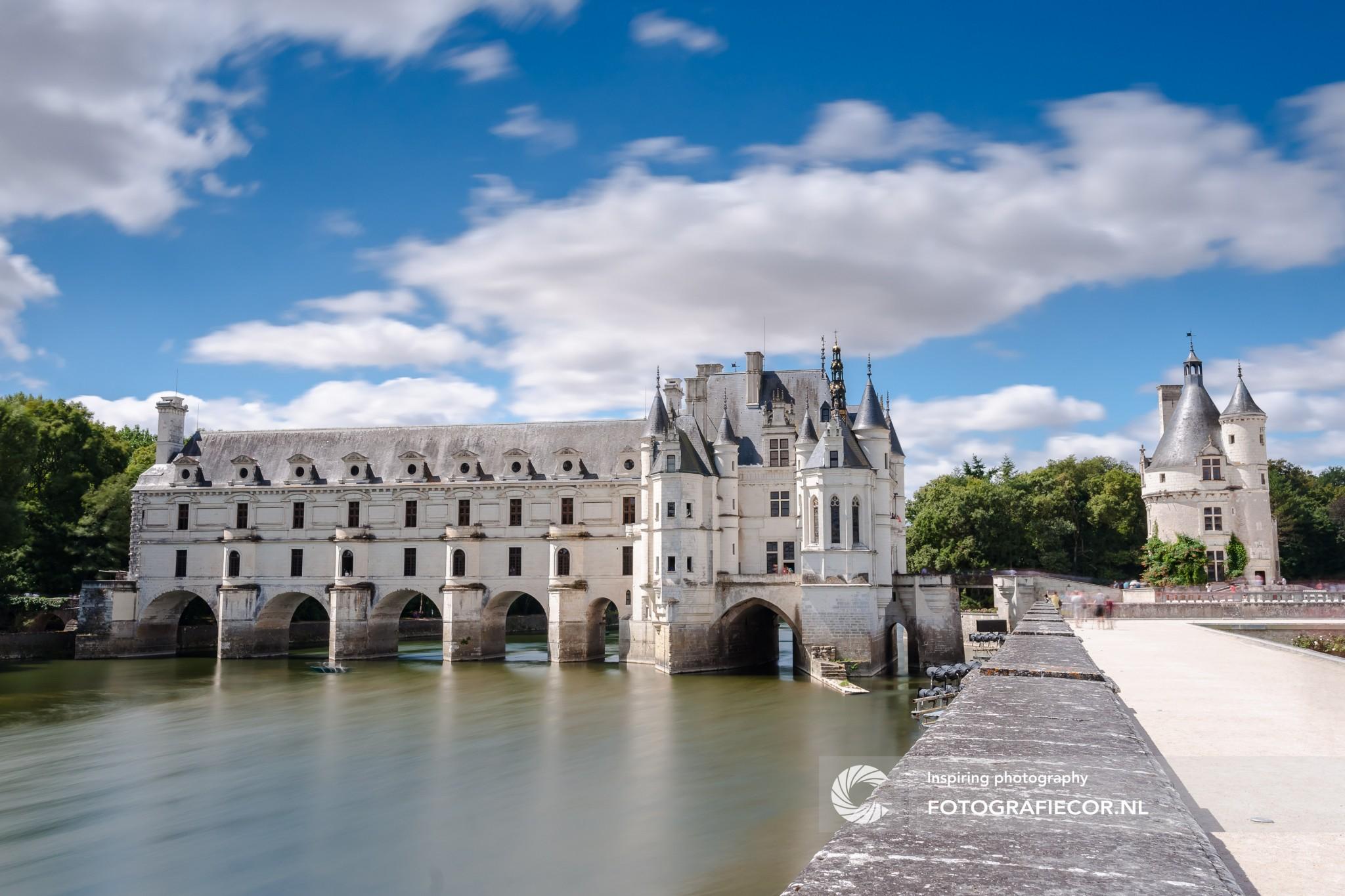 Lonely Planet Gids Reisfotografie | kasteel van chenonceau, Frankrijk | bezienswaardigheden loire vallei met fotograaf Kampen | Fotograferen met lange sluitertijden
