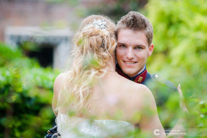 Portret | bruidegom | bruid | bruidspaar | loveshoot | fotograaf