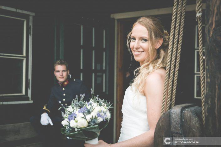 Koggewerf | bruidspaar | portret | trouwfoto | trouwen | reportage | fotografie