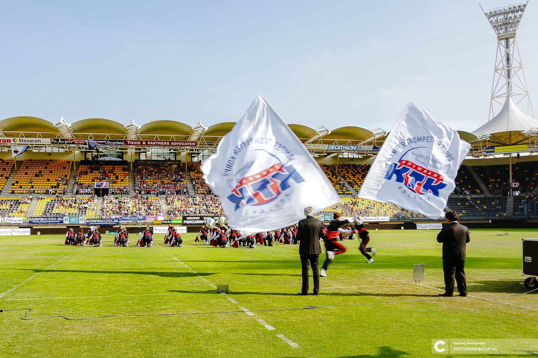 KTK Kampen show uitvoering stadion WMC Kerkrade Limburg