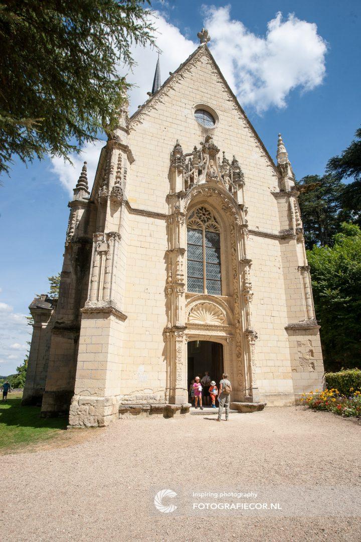 Lonely Planet Gids Reis fotografie | Kerk van Château d'Ussé fotograferen bezienswaardigheden Loire, Frankrijk. | Fotograaf Kampen