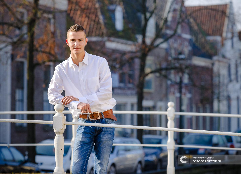 Foto maken van portretfotografie in centrum Hanzestad Kampen