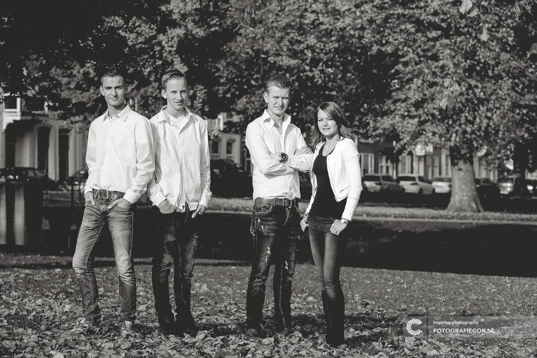 Foto maken Black & White fotografie gezin
