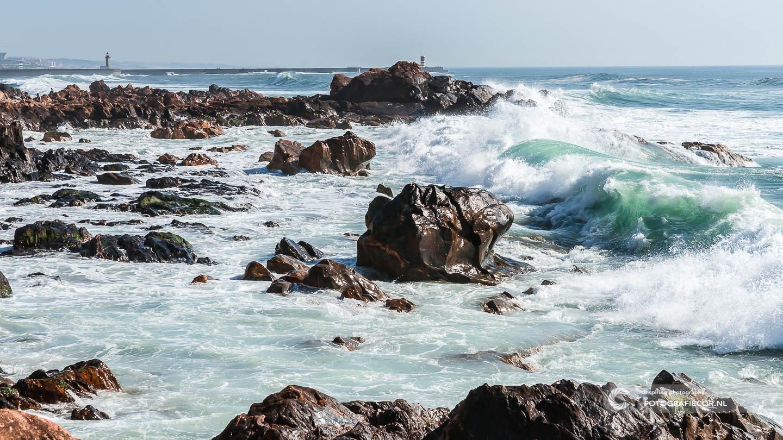 Atlantische Oceaan | Kust | Porto | Oceaan | Zee | Golven | Portugal | Citytrip