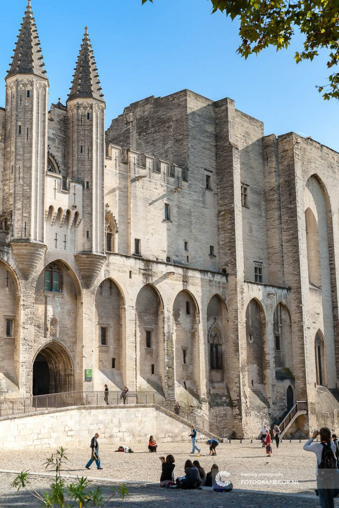 Avignon | palais des papes | Kathedraal | Paus | middeleeuws | paleis | vaticaan
