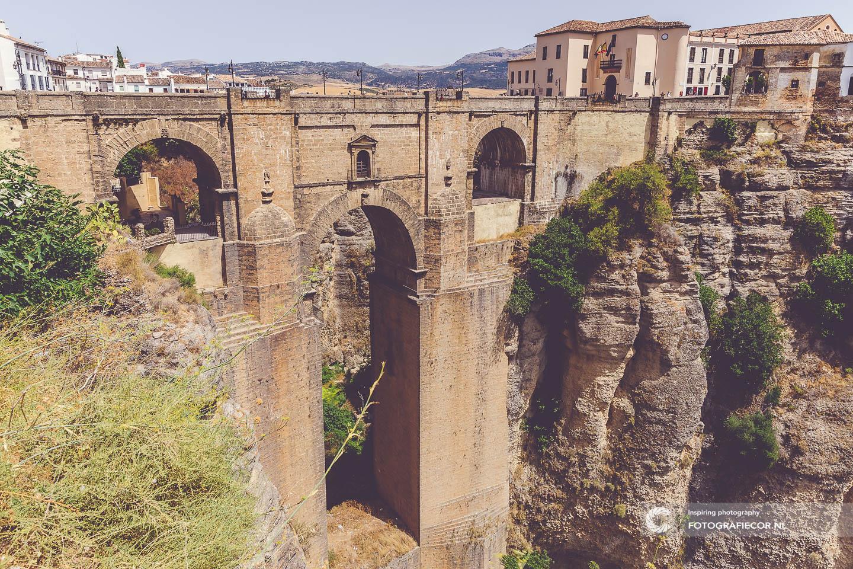 Puente Nuevo | Brug | kloof | Ronda | Andalusia | Spanje | Tajo | Ravijn | bezienswaardigheden | Andalusië