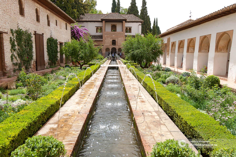 Generalife | tuin | groen | Architectuur | Arabisch | Mooren |Sultans | Alhambra | Granada