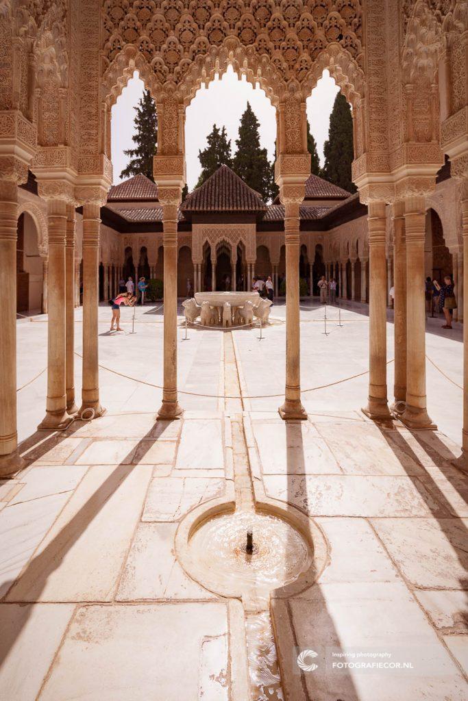 Patio | los Leones | Leeuwen | Leeuwenfontein | Nasrid | Paleis | Alhambra | Granada