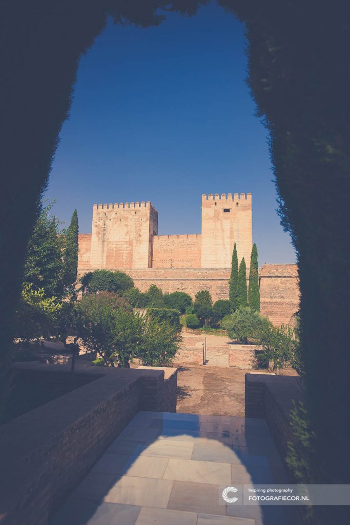Alcabaza | Alhambra | Torens | Fort | Granada | vesting | Unesco | Citytrip | Bezienswaardigheid | Foto's
