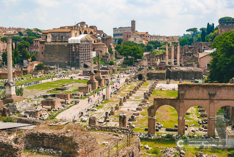 Citytrip | Rome | Bezienswaardigheden | ruïnes | Forum Romanum | oudheid | centrum van Rome | Italie