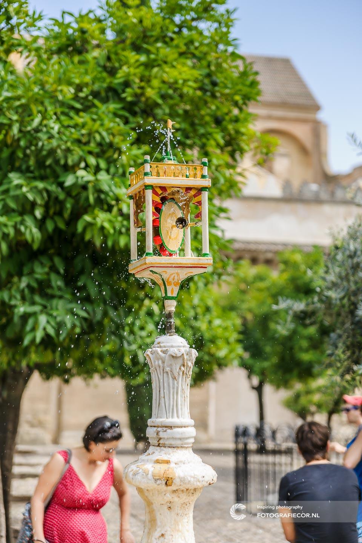 Andalucia Spanje   Andalusie   bezienswaardigheden   Cordoba   mezquita   córdoba   reizen Spanje   rondreis Spanje   stedentrip   zuiden van Spanje   Architectuur   Mooren   moskee   Fontein