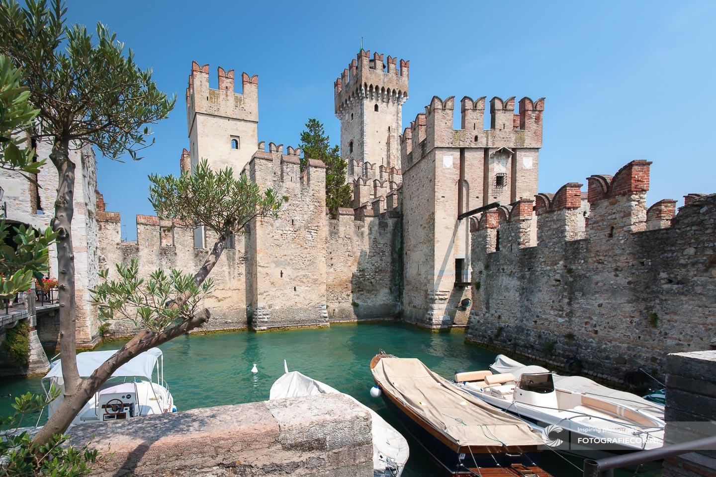 Rocco Scagliera. | Sirmione | Italie | Gardameer | Kasteel | Lago di Garda | Italië