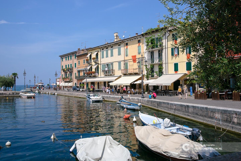 Lazise | Bardolino | Italie | Gardameer | haven | bezienswaardigheden | Lago di Garda | Noord Italië | Alpen | Italiaanse meren