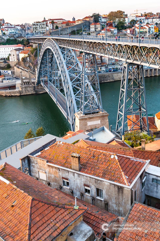 Brug Porto | citytrip porto | foto tips | fotografie reizen | fotografie tips porto | porto bezienswaardigheden | porto citytrip | Portugal | reisfotografie | stedentrip