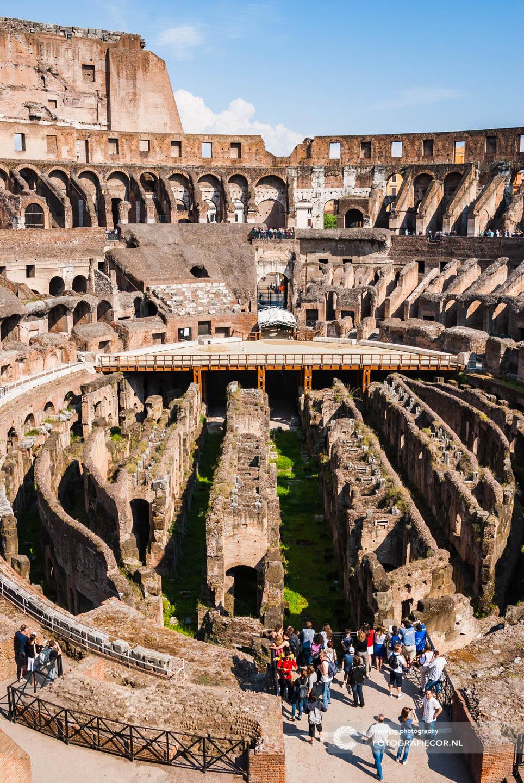 Colosseum | Bezienswaardigheden | Citytrip | Rome | Italie | monumenten | Gladiatoren