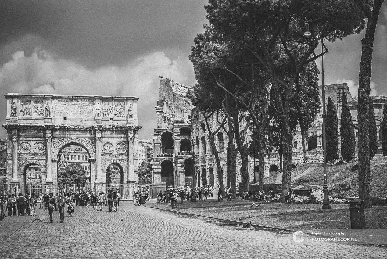 Colosseum in Rome | Bezienswaardigheden | triomfboog | Forum Romanum | Italie | Centrum | Citytrip