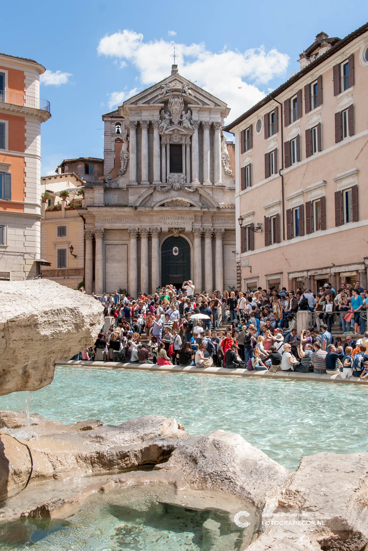 Bezienswaardigheden | Trevi | fontein | Rome | Toeristen | Stedentrip | Italie