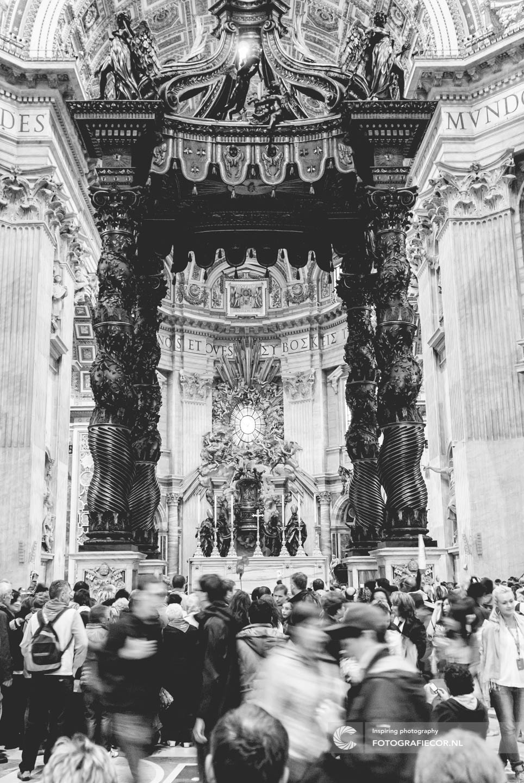 Rome | Citytrip | Vaticaan | baldakijn | Bernini | Stedentrip | Bezienswaardigheden