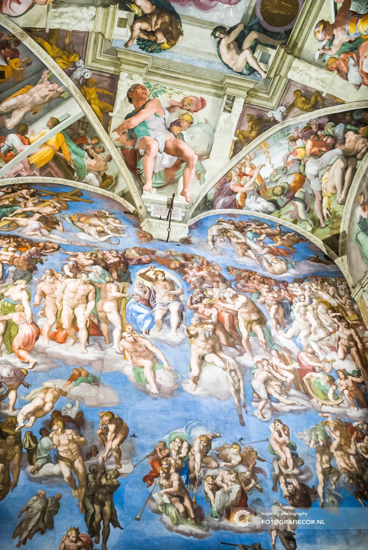 Sixtijnse kapel | plafondschildering | Michelangelo | De schepping | Vaticaan | kerk | Rome | Citytrip