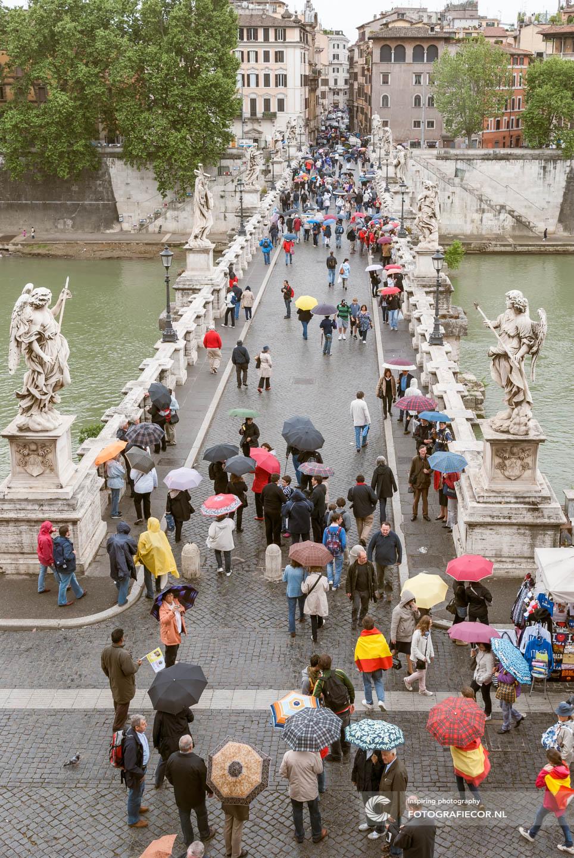 Engelenbrug | Tiber | Rome | Hadrianus | Engelenburcht | Bernini | Italie | Vativcaanstad