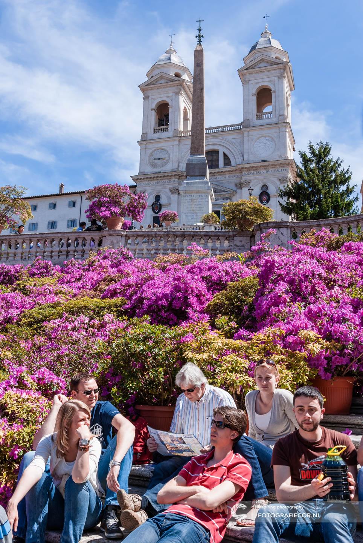 Spaanse trappen | Trinità dei Monti | Piazza di Spagna | Fontana della Barcaccia | Rome | Bezienswaardigheden | Pinicio | Citytrip