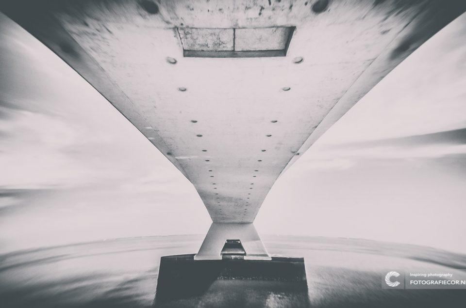 foto filter / Architectuurfotografie Zeelandbrug, Zeeland, Nederland