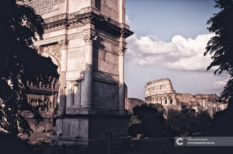 Italie | fotografie tips Rome | colosseum| forum Romanum | Boog van Titus | Circus Maximus