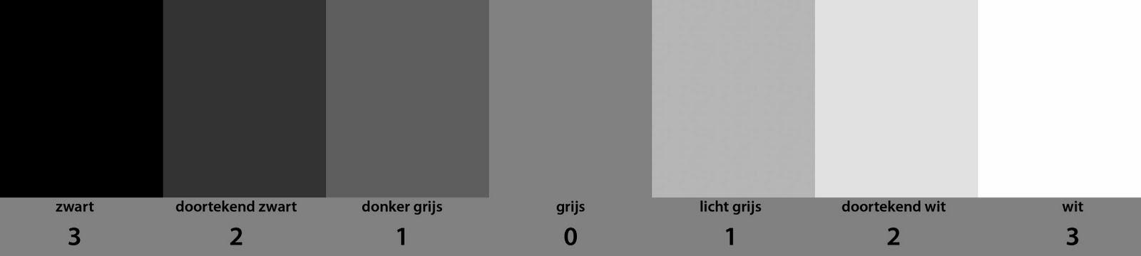 Licht meten | midden | grijs | schaal
