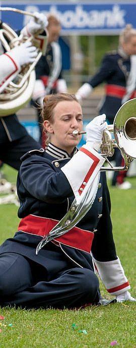 Kamper Trompetterkorps | Kampen | opperste concentratie
