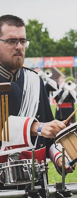 Kamper Trompetterkorps | Kampen | percussion in de pit